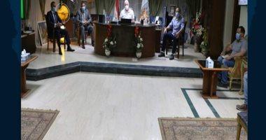 محافظ جنوب سيناء يلتقى وفد التعليم العالى لمناقشة مشاكل مقر جامعة الملك سلمان