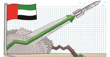 كاريكاتير صحيفة إماراتية.. مسبار الأمل يتحدى كورونا بالإمارات