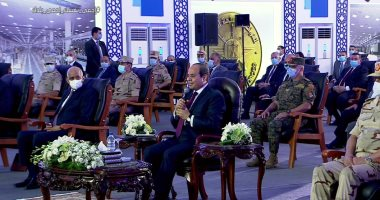 """السيسى: لو كنا ظالمين ومعتدين مكنش ربنا وفقنا.. وهننجح فى مفاوضات """"النهضة"""""""