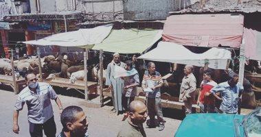 توقيع غرامات فورية على المخالفين بإقامة شوادر الأغنام بالإسكندرية