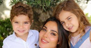 نادين نسيب نجيم تحتفل بعيد الأضحى مع أولادها.. صور