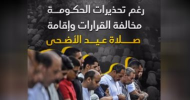 فيديو.. رغم تحذيرات الحكومة.. مخالفة القرارات وإقامة صلاة عيد الاضحى