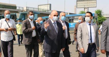 محافظ القاهرة : إلزام الجميع بارتداء الكمامة فى وسائل النقل العام