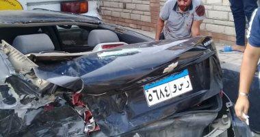 إصابة رئيس الوحدة المحلية في بلقس بكسر في الجمجمة أثناء حادث مرورى