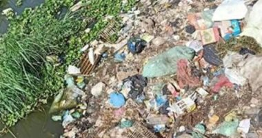 انتشار القمامة ومياه الصرف الصحى بمنطقة أرض الجمعيات فى الإسماعيلية