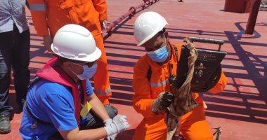 رئيس ويبكو يتفقد ناقلة تصدير بترول بـميناء الحمراء بعد شحن 15 مليون برميل