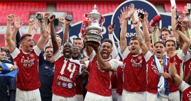 مراسم تتويج أرسنال بلقب كأس الاتحاد الإنجليزي