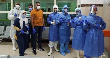 مستشفى العديسات للعزل الصحى تنجح فى علاج وشفاء أكثر من 250 حالة كورونا