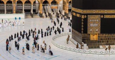 ضيوف الرحمن يتوافدون على المسجد الحرام لأداء طواف الوداع
