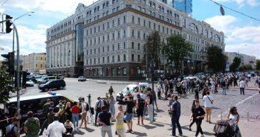 اعتقال شخص هدد بتفجير بنك فى العاصمة الأوكرانية كييف