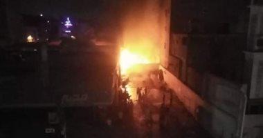 اندلاع حريق بشركة منظفات فى حدائق الأهرام.. وسيارات إطفاء تحاصر النيران