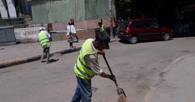 محافظة الجيزة ترفع 45 ألف طن مخلفات وقمامة فى عيد الأضحى