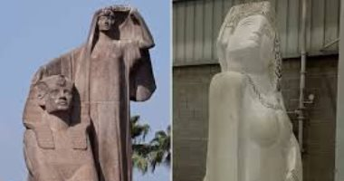 "ماذا لو رأى عباس محمود العقاد تمثال ""مصر تنهض""؟"