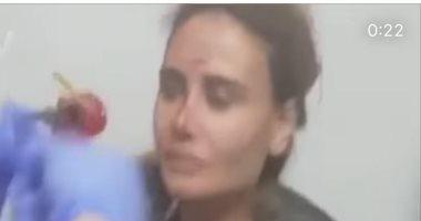 داليدا عياش تصاب بجروح بالغة من انفجار ميناء بيروت.. فيديو وصور