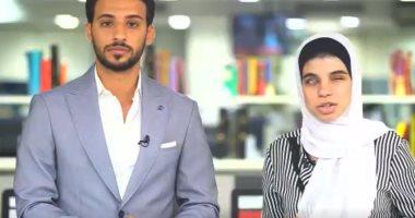 محمد السيسي والطالبة سامية