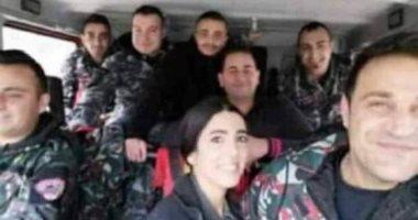 أخر صورة قبل وفاتهم بدقائق.. استشهاد 8 عناصر من الدفاع المدنى فى انفجار بيروت