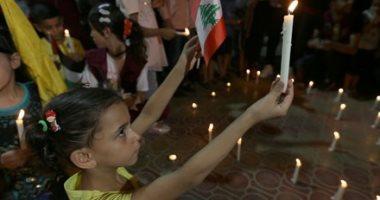 انفجار بيروت ..اللبنانيون يمحون آثار الدمار ..ووقفات تضامن وحداد بالشموع