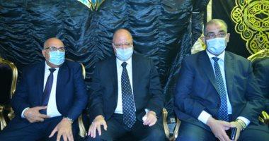 محافظ القاهرة ونواب بالبرلمان يقدمون واجب العزاء للنائب محمد المسعود فى وفاة نجله