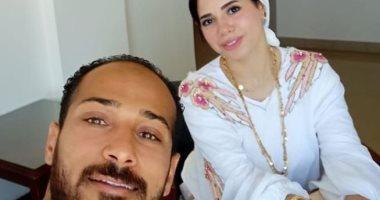 زوجة وليد سليمان فى أحدث ظهور لها بالحجاب.. ونجم الأهلى: حياتى أنا ..صورة