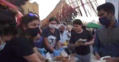 الأمم المتحدة تعلن دعم لبنان بـ15 مليون دولار حتى الآن و5 الآف طرد غذائى