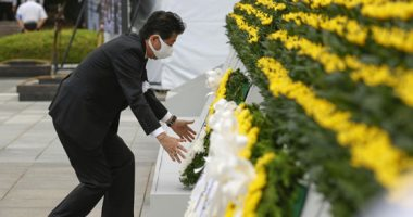 هيروشيما اليابانية تحيى ذكرى مرور 75 عاما على ضربها بقنبلة نووية أمريكية