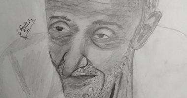 """تقديرا لدوره الإنسانى.. """"السيد"""" يشارك بلوحة لطبيب الغلابة من كفر الشيخ"""