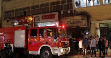 صورة نشوب حريق بمخزن تابع للإصلاح الزراعى بقرية فى الفيوم