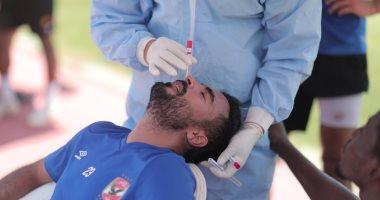 الأهلي يجري مسحة طبية قبل مواجهة الاتحاد فى كأس مصر
