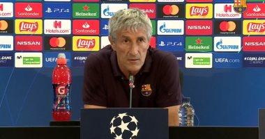 برشلونة ضد نابولى.. سيتين: قادرون على التأهل لنهائى دورى الأبطال