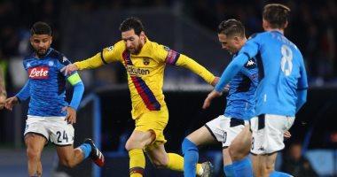 التشكيل الرسمى لمباراة برشلونة ضد نابولى فى دورى أبطال أوروبا