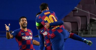 ميسي يضيف ثانى أهداف برشلونة ضد نابولى فى الدقيقة 23.. فيديو