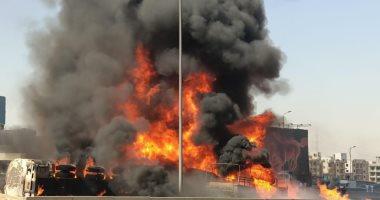 إصابة 5 أشخاص بحادث الطريق الدائري