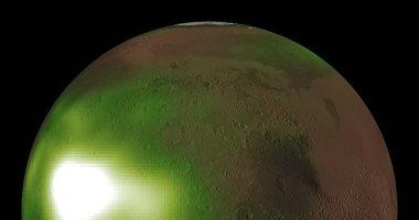 ناسا: كوكب المريخ يتوهج باللون الأخضر فى الليل