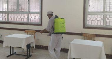 الانتهاء من رش وتجهيز لجان البحيرة استعدادًا لانتخابات مجلس الشيوخ
