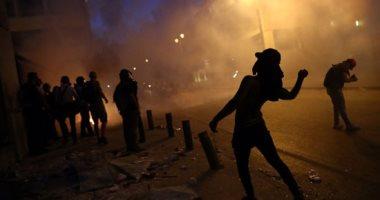 الجيش اللبنانى ينفى إطلاق الرصاص الحى على المتظاهرين