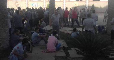 عمال جرانتيو للسيراميك فى المنوفية يضربون عن العمل للمطالبة بزيادة المرتبات