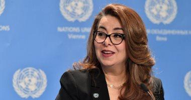 غادة والى تؤكد حل 489 قضية للاتجار بالبشر فى 71 دولة