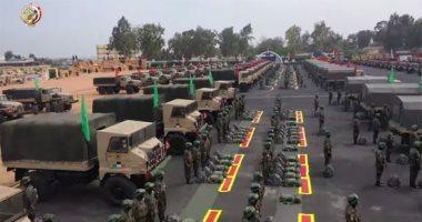 القوات المسلحة تستعد لتأمين انتخابات مجلس النواب على مستوى الجمهورية