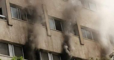 اندلاع حريق بمبنى مستشفى صحة المرأة بأسيوط