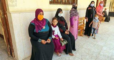 تزايد الإقبال بلجان العياط فى منتصف اليوم الأول لانتخابات الشيوخ.. صور