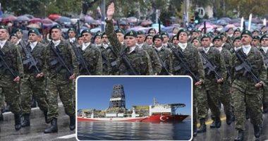 فرقاطة يونانية تمنع سفينة تنقيب تركية من الاقتراب من سواحل جزيرة كاستيلوريزو