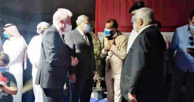 صور.. محافظ جنوب سيناء يتفقد لجان الانتخابات بشرم الشيخ