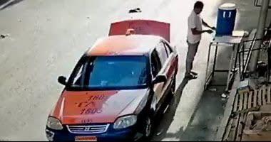 """مصدر أمنى: واقعة سرقة سائق تاكسى لـ""""كولمن"""" مياه السبيل حديثه وتم القبض عليه"""