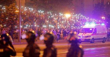 بيلاروسيا: اعتقال 700 شخص شاركوا فى مسيرات احتجاجية غير مُصرح بها
