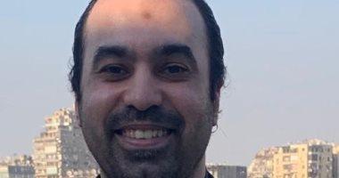 جمال حمزة يدلى بصوته فى انتخابات الشيوخ