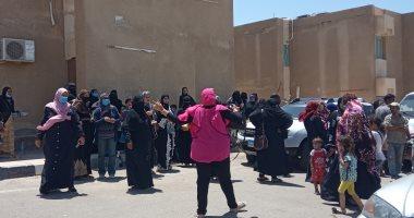 توافد سيدات جنوب سيناء على اللجان للإدلاء بأصواتهن في انتخابات الشيوخ