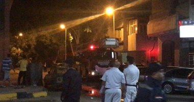 """السيطرة على حريق داخل شقة سكنية فى شارع """"الثورة"""" بالمهندسين دون إصابات"""