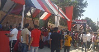 طوابير الناخبين أمام لجان دار السلام باليوم الثانى لانتخابات الشيوخ.. صور