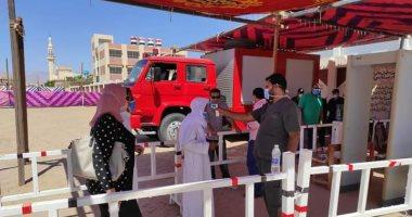 توافد الناخبين على لجان جنوب سيناء وتوفير 15 فريقا طبيا و18 سيارة إسعاف