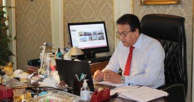 وزير التعليم العالى يوجه باتخاذ الاستعدادات لمواجهة أى موجه ثانية من كورونا
